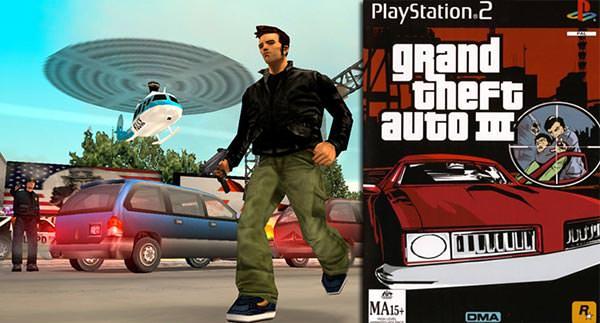Tela do Grand Theft Auto III