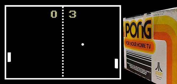 Tela do Pong