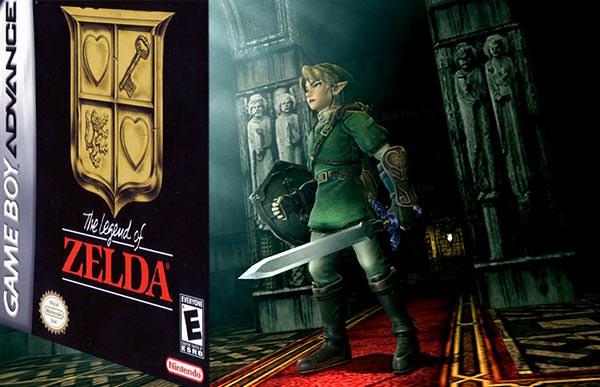 Tela do The Legend of Zelda