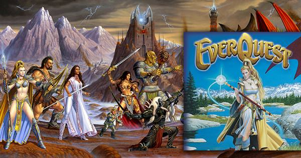 Tela do EverQuest