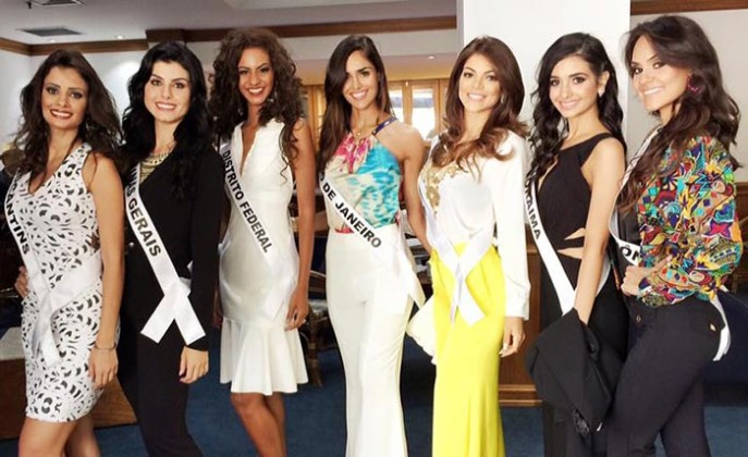 Candidatas Miss Brasil 2015
