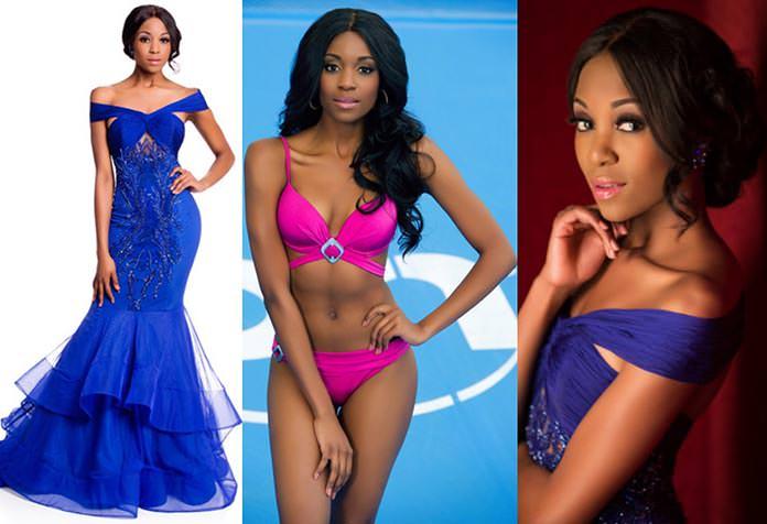 Miss África do Sul 2015 - Refilwe Mthimunye