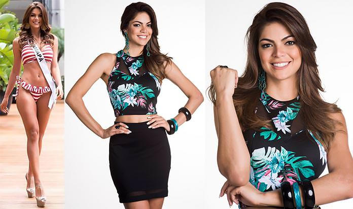Fotos de Daiane Uchôa Miss Amapá 2015