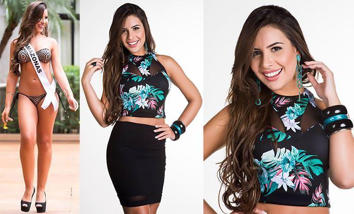 Fotos de Carolina Toledo Miss Amazonas 2015