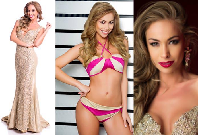 Miss Bolívia 2015 - Romina Rocamonje