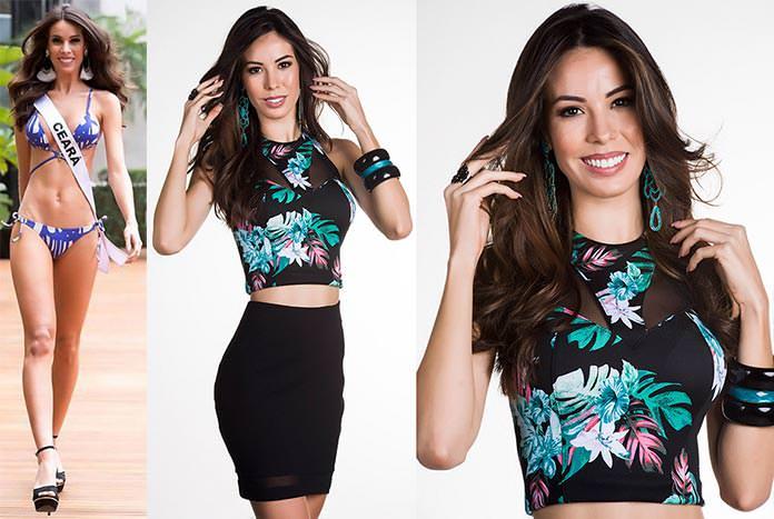 Fotos de Arianne Miranda Miss Ceará 2015