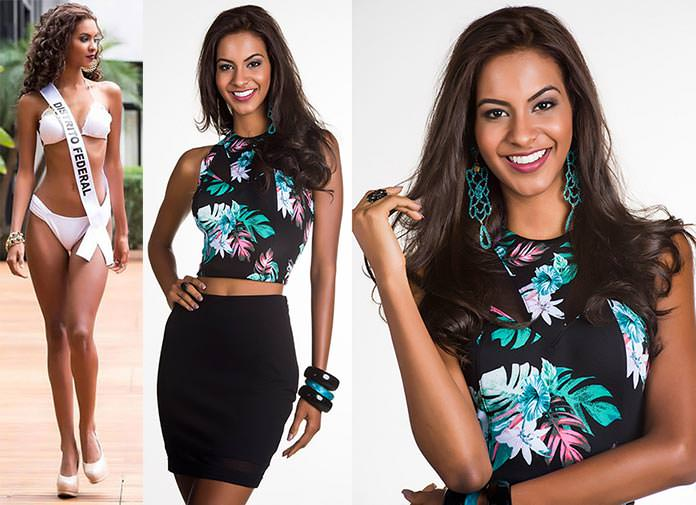 Fotos de Amanda Balbino Miss Distrito Federal 2015
