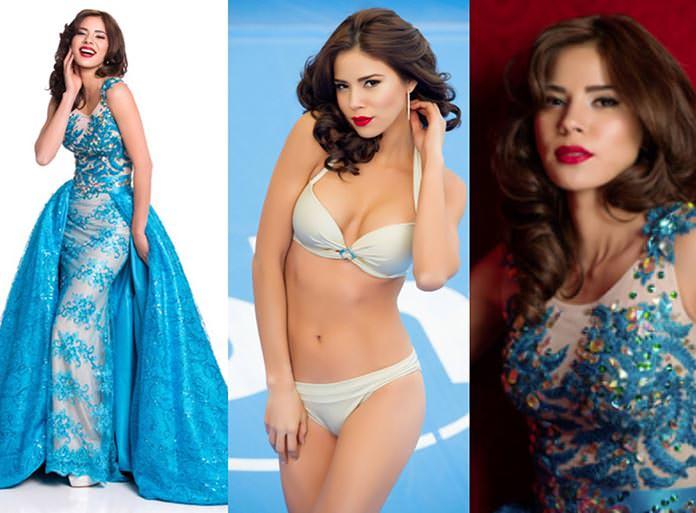 Miss El Salvador 2015 - Fátima Idubina Rivas