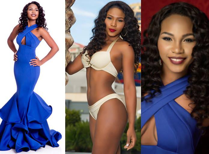 Miss Gabão 2015 - Ornella Obone
