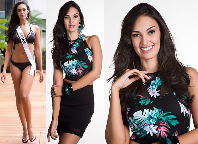 Fotos de Thaynara Fernandes Miss Goiás 2015