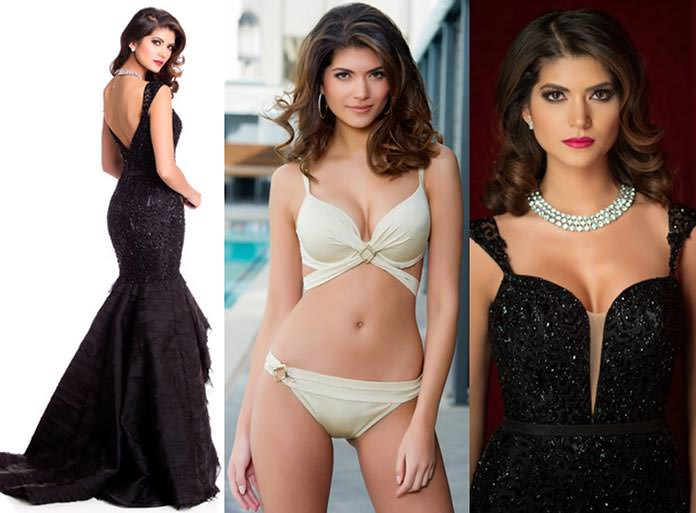 Miss Grã-Bretanha 2015 - Narissara Nena France