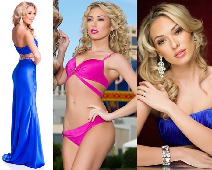 Miss Grécia 2015 - Mikaela Fotiadi