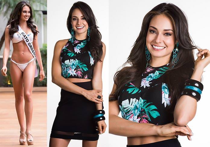 Fotos de Camilla Della Valle Miss Mato Grosso 2015