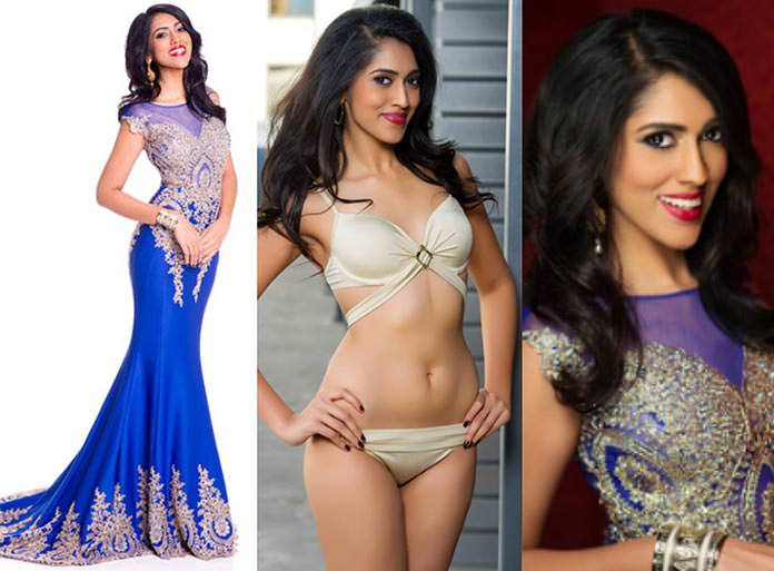 Miss Maurício 2015 - Sheetal Khadun