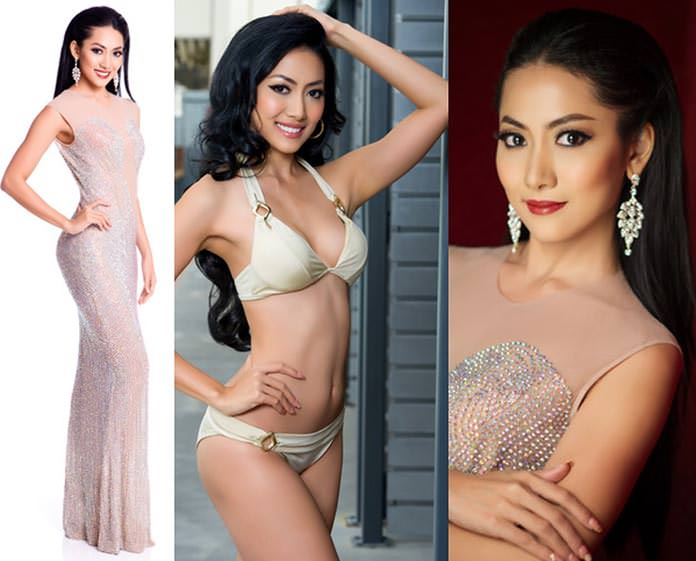 Miss Myanmar 2015 - May Barani Thaw