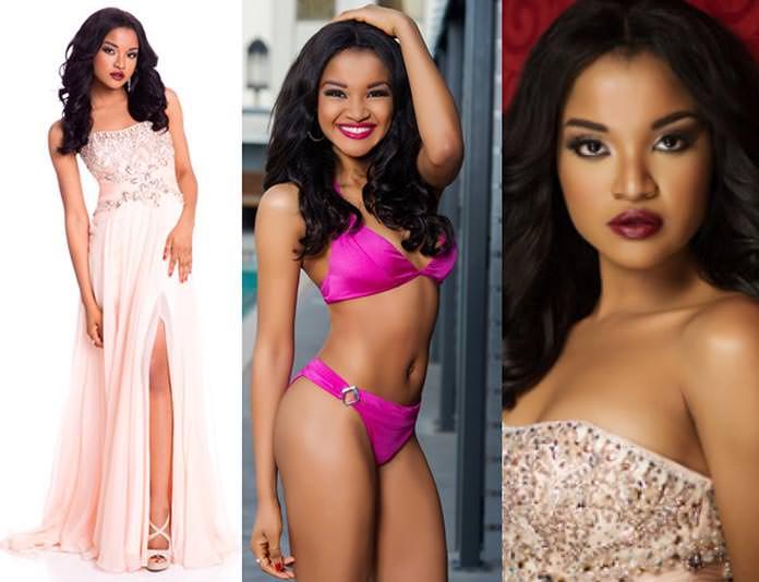 Miss Nigéria 2015 - Debbie Collins