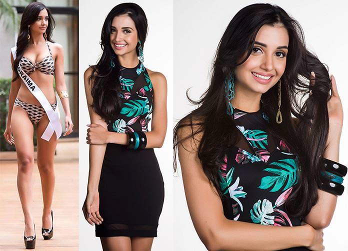 Fotos de Melina Gomes Miss Roraima 2015