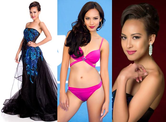 Miss Singapura 2015 - Lisa Marie White