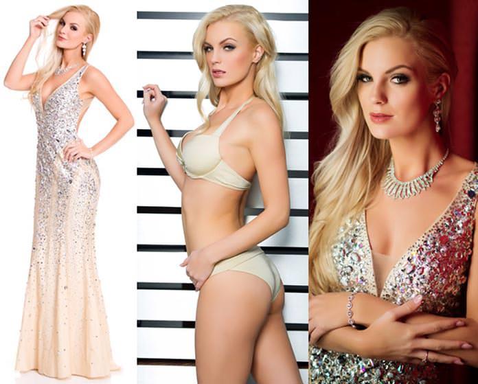 Miss Suécia 2015 - Paulina Brodd
