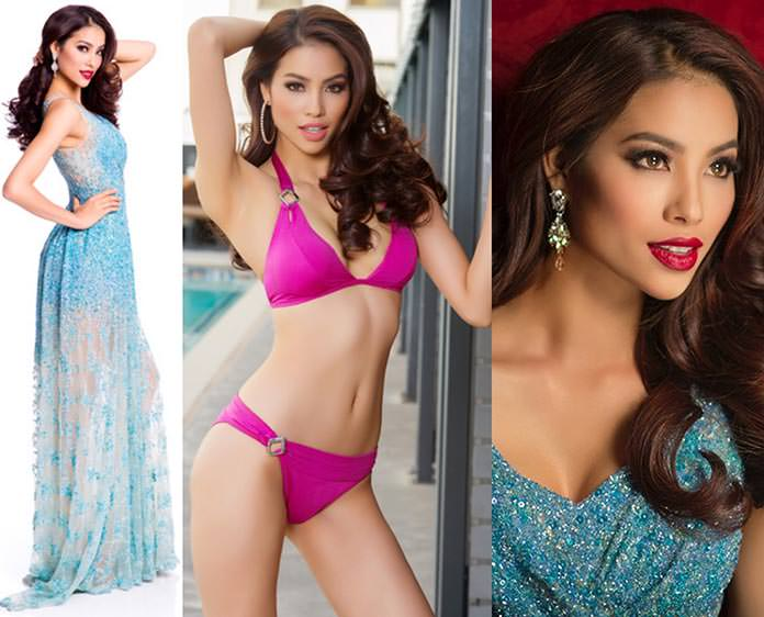 Miss Vietnã 2015 - Pham Thi Huong