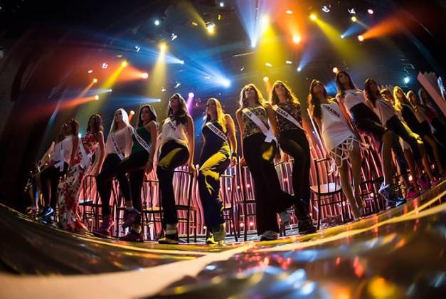 Cobertura do Miss Brasil 2015