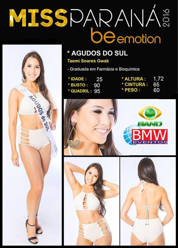 Miss Agudos do Sul - Taemi Gwak