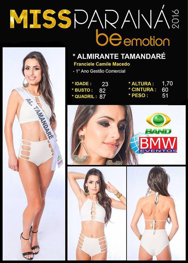 Miss Almirante Tamandaré - Franciele Macedo