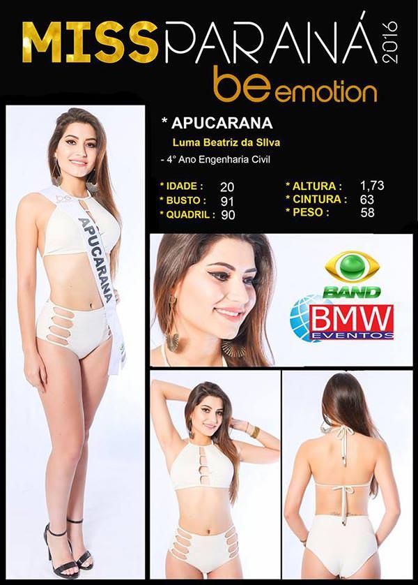 Miss Apucarana - Luma Beatriz Silva