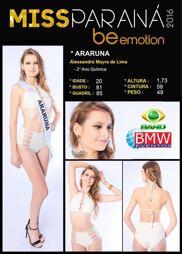 Miss Araruna - Alessandra Lima