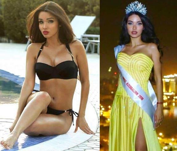 Miss Azerbaijão 2016 - Oksana Barkhatova