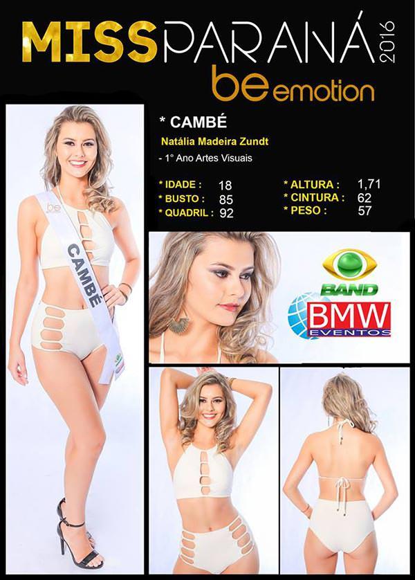 Miss Cambé - Natália Zundt
