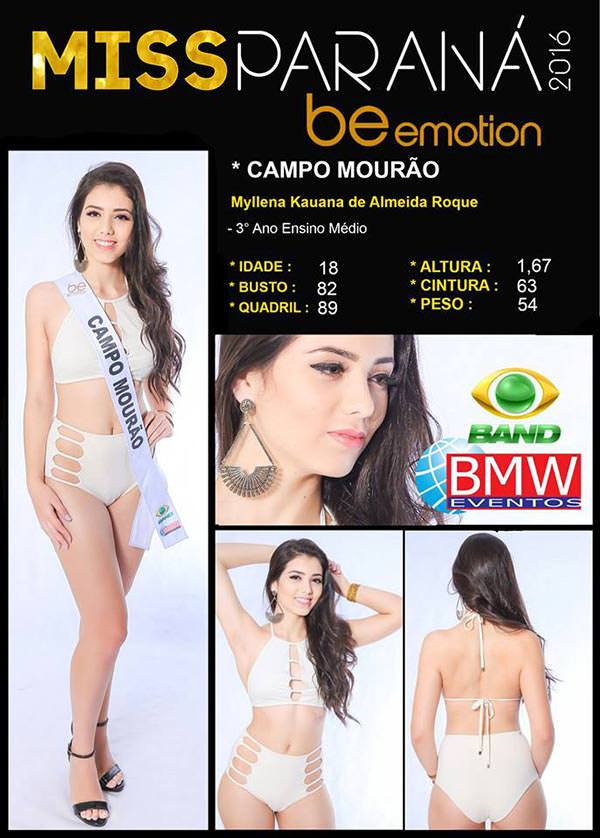 Miss Campo Mourão - Myllena Kauanna