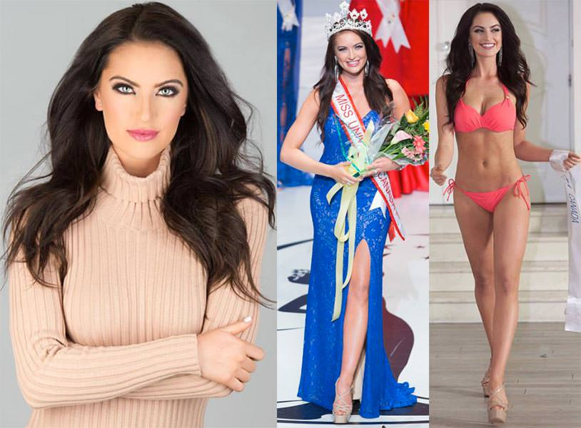 Miss Canadá 2016 - Siera Bearchell