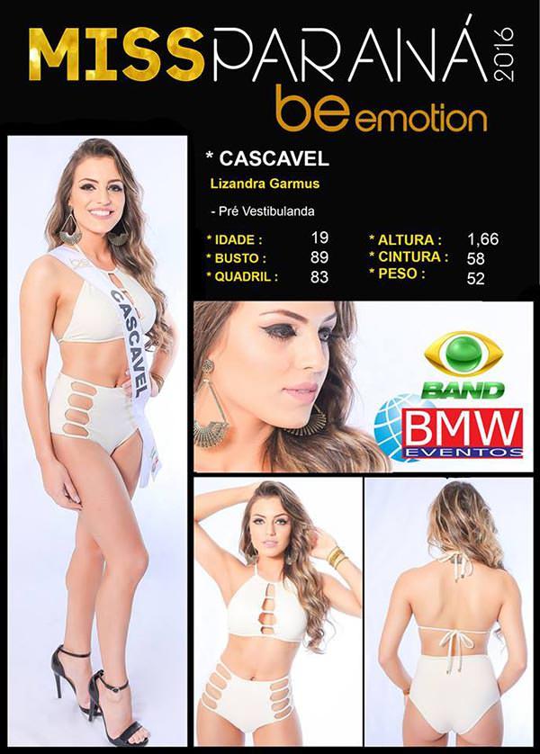 Miss Cascavel - Lizandra Garmus