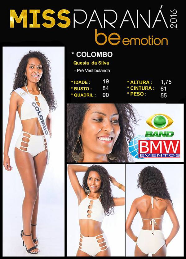 Miss Colombo - Quesia Silva