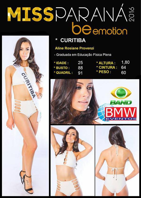 Miss Curitiba - Aline Provenzi