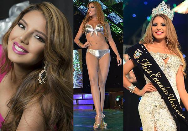 Miss Equador 2016 - Connie Jiménez