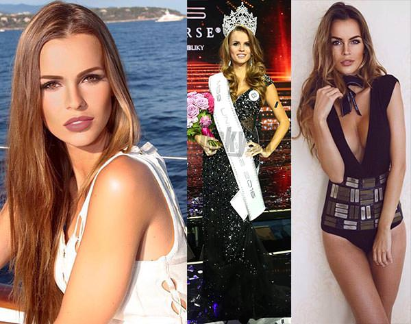 Miss Eslováquia 2016 - Zuzana Kollárová