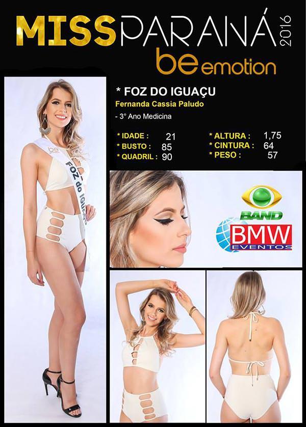 Miss Foz do Iguaçu - Fernanda Cassia Paludo