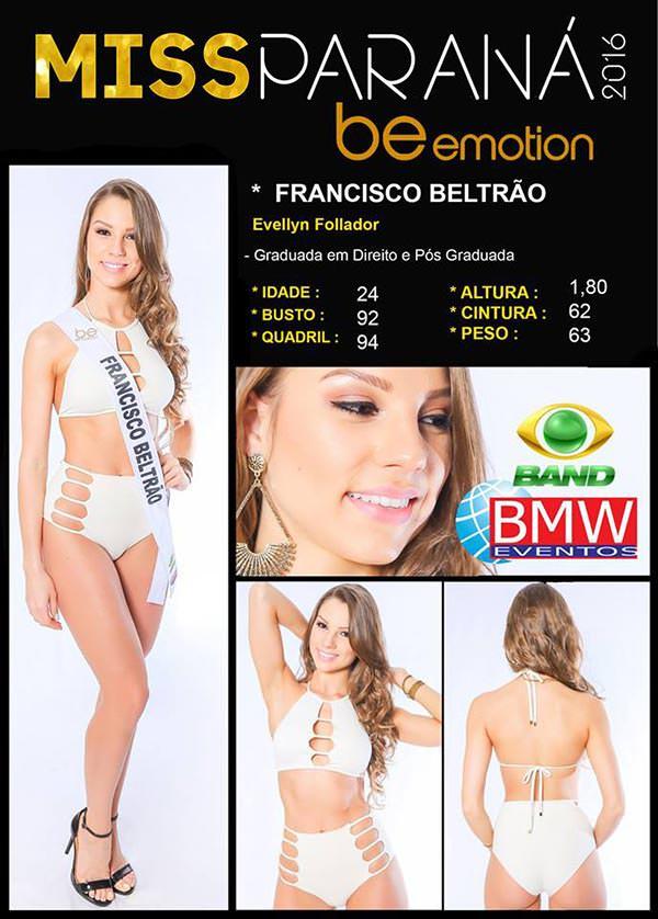 Miss Francisco Beltrão - Evellyn Follador