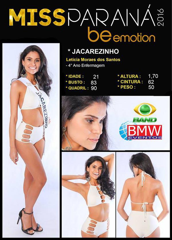 Miss Jacarezinho - Leticia Moraes dos Santos