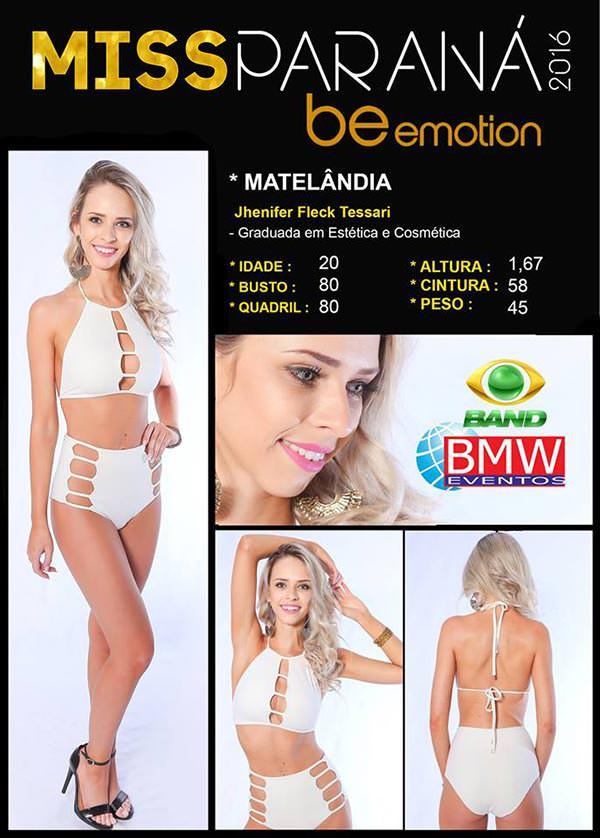 Miss Matelândia - Jhenifer Tessari