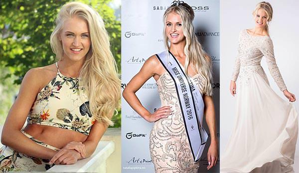 Miss Noruega 2016 - Christina Waage