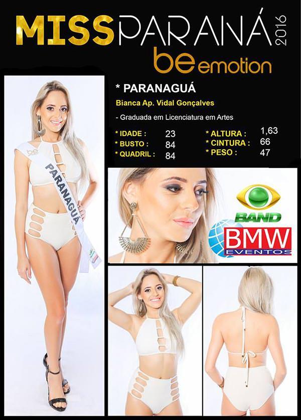 Miss Paranaguá - Bianca Vidal Sorato