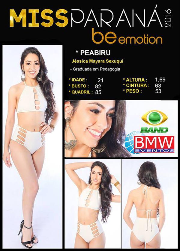 Miss Peabiru - Jéssica Sexuqui