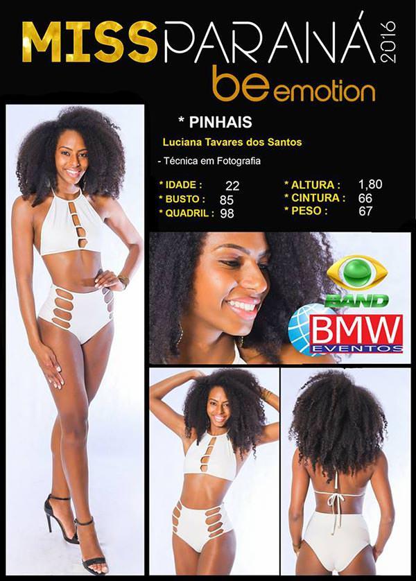 Miss Pinhais - Luciana Tavares