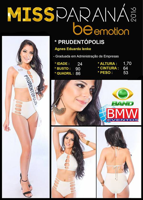 Miss Prudentópolis - Agnes Eduarda Yenke