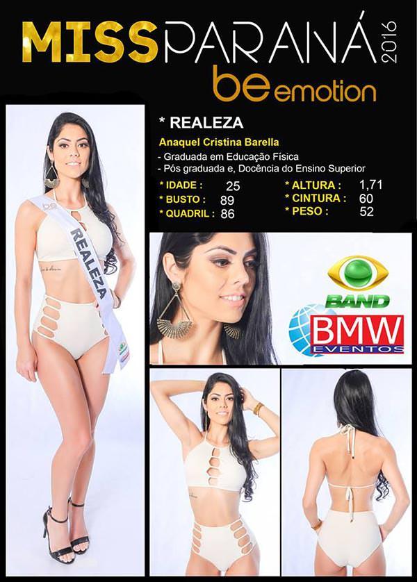 Miss Realeza - Ana Barella