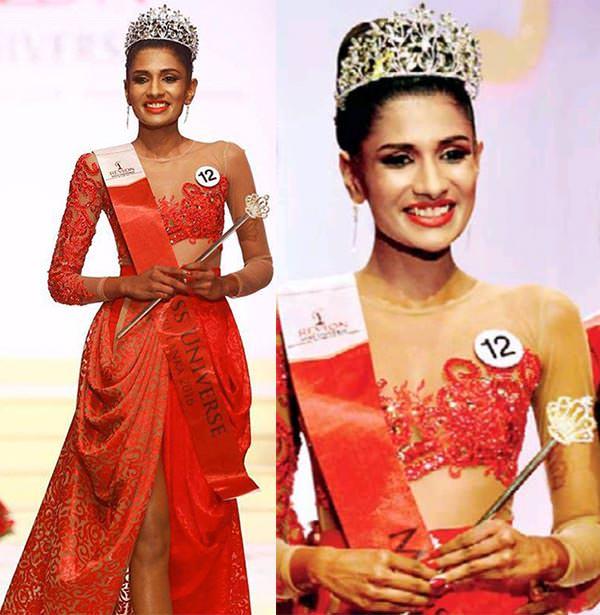 Miss Sri Lanka 2016 - Jayanthi De Silva