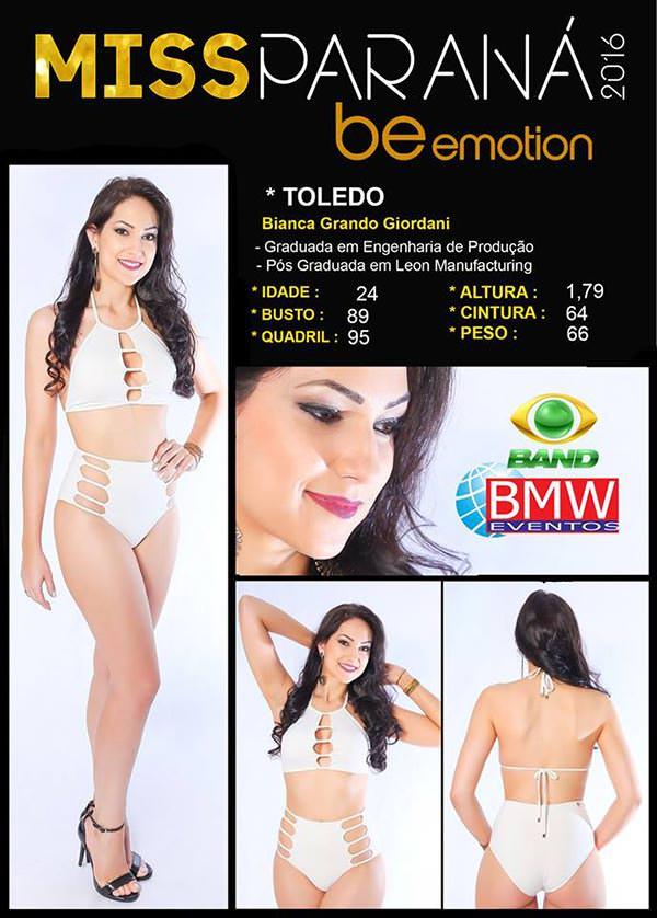Miss Toledo - Bianca Grando Giordani